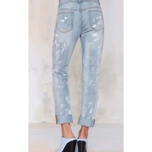 Nasty Gal Jeans - Nasty Gal The Brush Up Boyfriend Jeans
